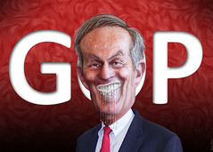 Todd Akin legitimately foaming at the mouth