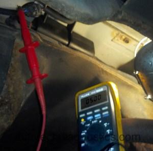 2003 Hyundai Santa Fe 24 Evap Leak, Fuel tank pressure sensor fault P0451