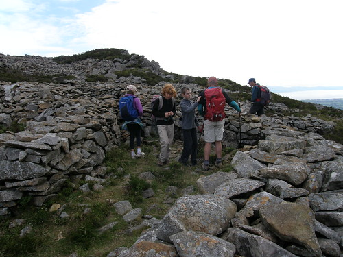 Exploring the hut circles