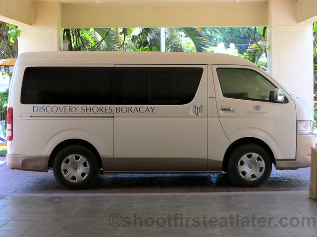Discovery Shores Boracay transfer from airport to hotel