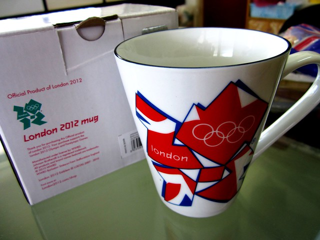 Official London Olympics 2012 mug
