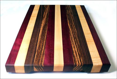 Big Stripey Board - Now with Zebrawood!