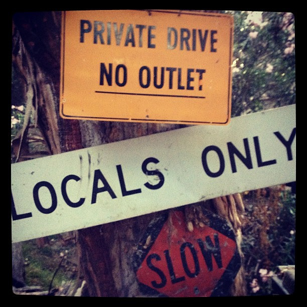 Luckily I am a local. And I walk slowly.