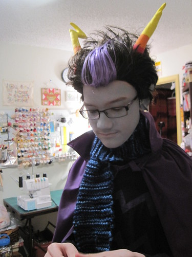 Eridan Ampora test run before Anime Overload