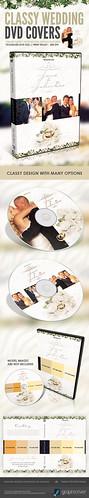 Classy Wedding DVD Psd Template