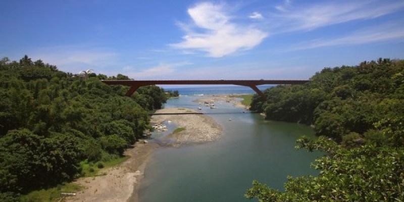 花東「富東公路」:東河新舊橋、泰源幽谷的猴子(7.11ys)