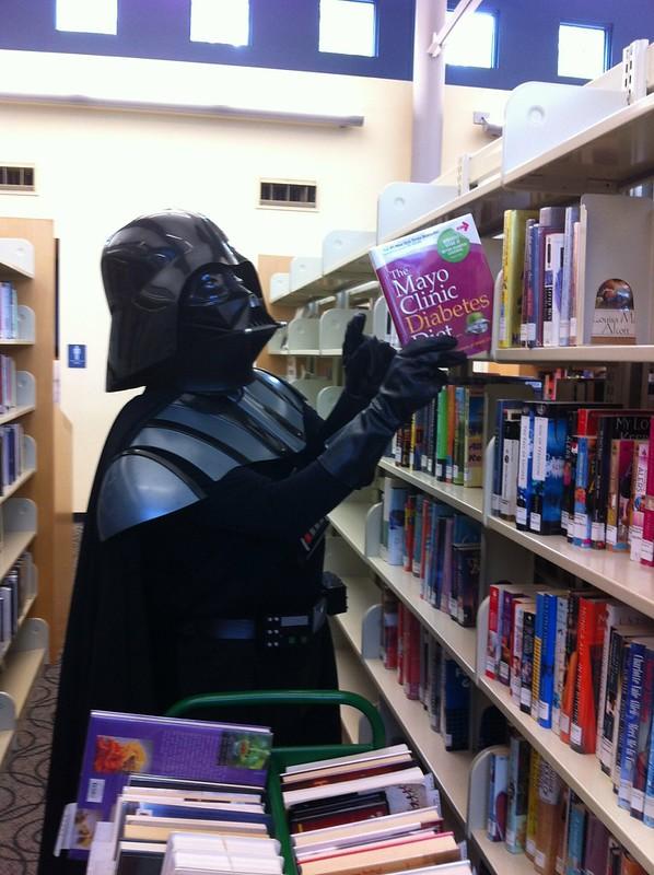 Darth Vader, Library Page