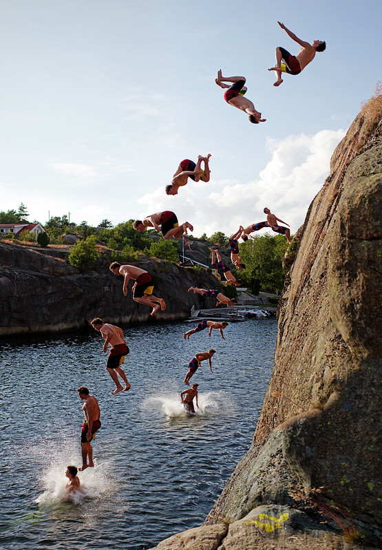 Backflip from 15m
