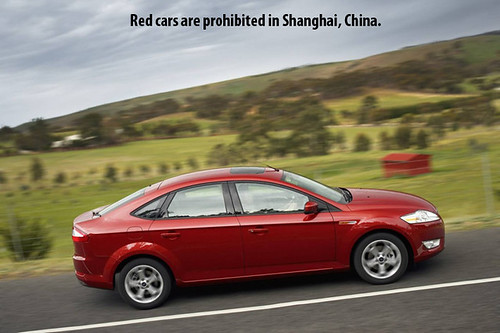 Ford-Mondeo-Red-Car by DeliveryMaxx