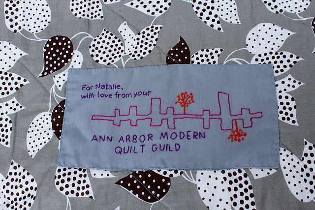 Best Quilt Label Ever.