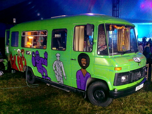 Gorilla Perfume Bus Lushfest 2012