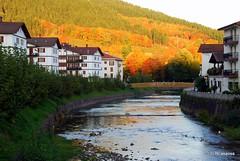 El río Bidasoa a su paso por Santesteban