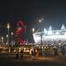 Orbit and Stadium by night