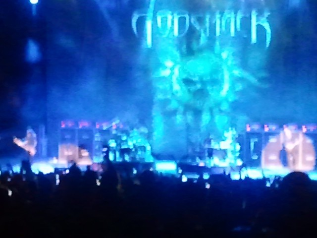 Godsmack Drum Battle