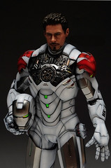 HT 1-6 Iron Man Mark IV (Hot Toys) Custom Paint Job by Zed22 (8)