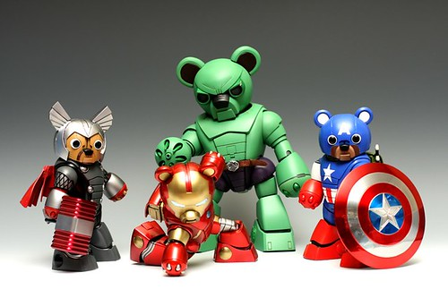 HG BearGuy Avengers Custom Build (1)