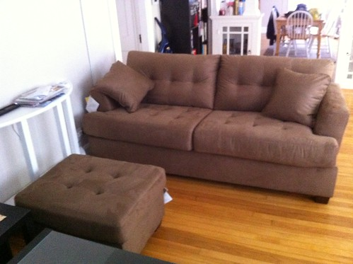 new couch delivered