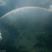 Rainbow over the jungle