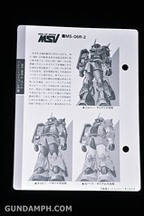 HCM MS-06R-2 Johnny Ridden's Zaku-II (144 scale) 1984 make (15)