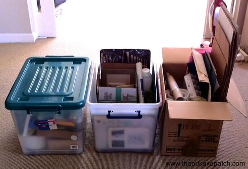 Finished storage