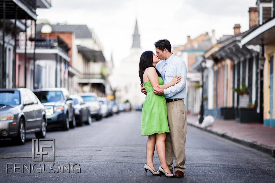 Amy & Michael's Engagement Session | French Quarter & New Orleans City Park | New Orleans Destination Wedding Photographer