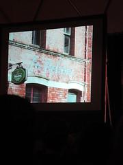 Slide from Mark Spurgeon's Pechakucha talk on signage