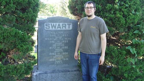 Ian @ William Swart Grave