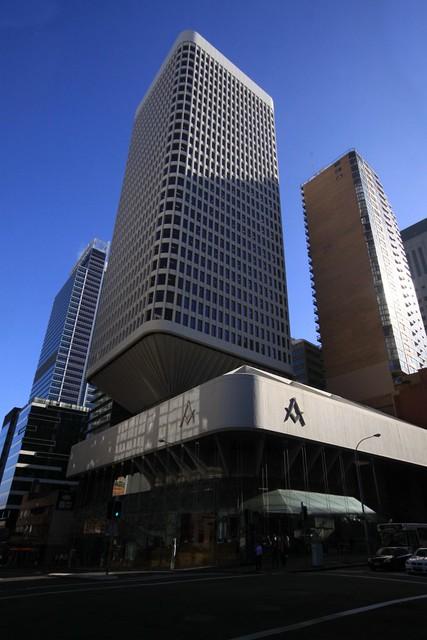 Civic Tower atop the Sydney Masonic Centre