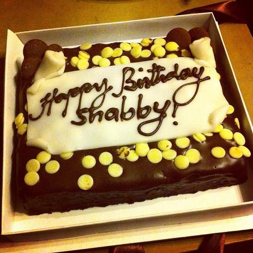 """""""Magic"""" birthday brownie cake!"""