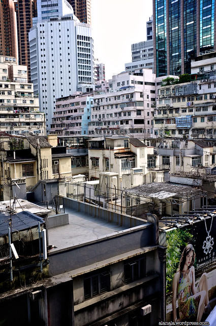 Roofs of old buildings in Causeway Bay