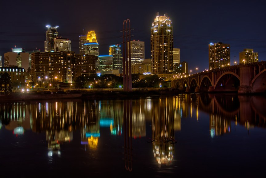 Minneapolis Reflection 2