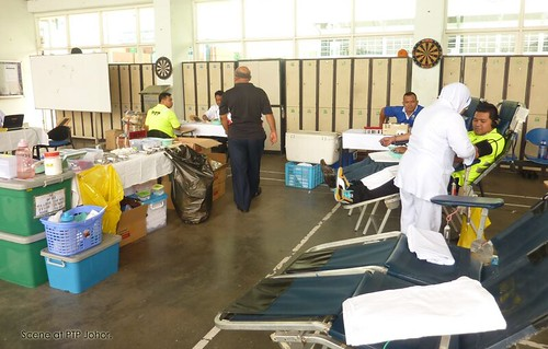 Pra Ramadan Blood donation  @ PTP Azman 2