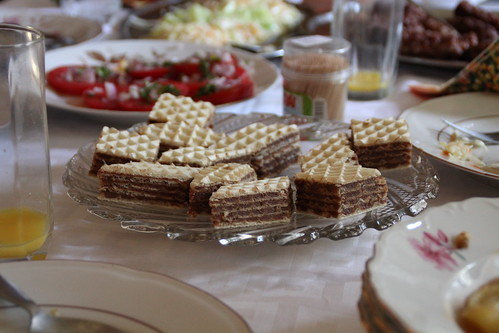 Cakes with homemade filling