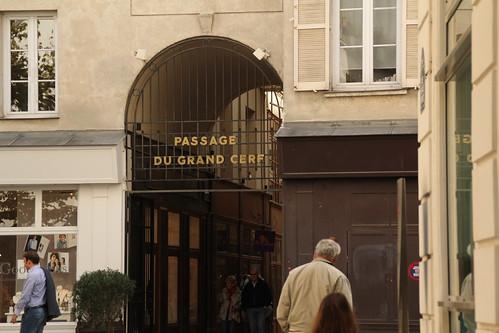 Passage du Grand Cerf Arcade