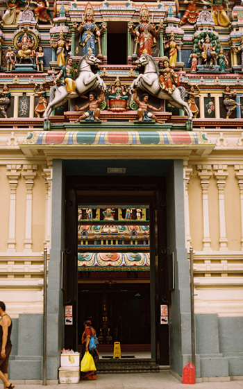 temple doorway
