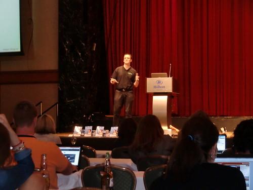 Dave Cupples keynoting Affiliate Summit East 2012