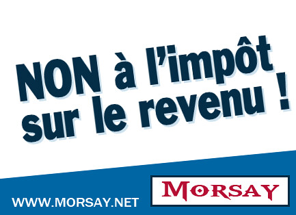 Non à l'impôt