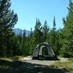 Campsite at Grand Teton