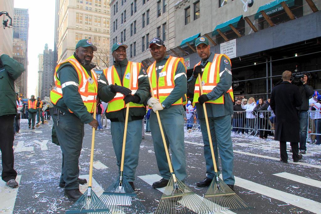 Sanitation Crew Clean Up