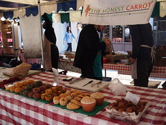 The Honest Carrot. Venn Street Market, Clapham Common