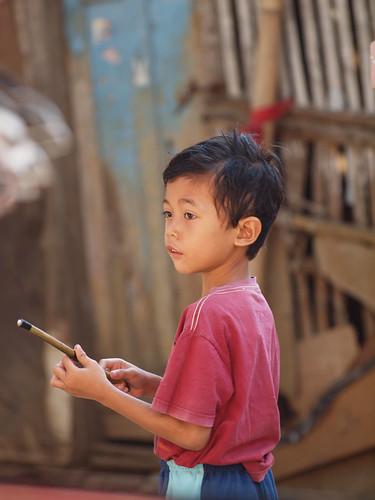 217/366 - A boy with a stick by Flubie