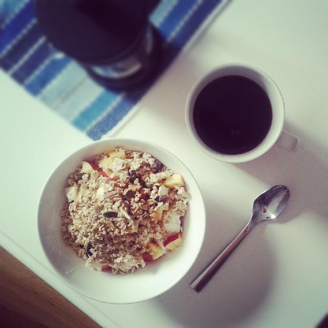 Monday breakfast.
