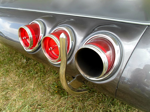 1944 Chevrolet pickup truck customized tail lights