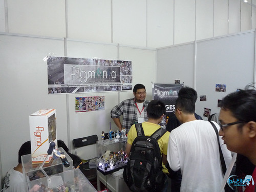 During exhibition day