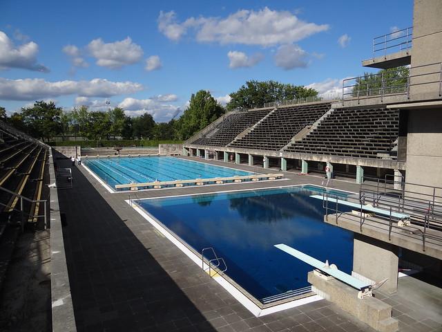 The Berlin 1936 Olympic Swim Stadium