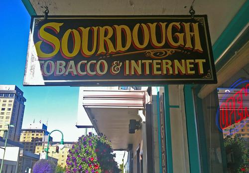 sourdough sign