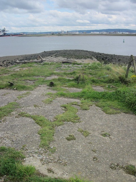 WW1 Sea Plane Slipway, North Gare
