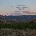 Yampa Plateau at sunset