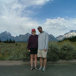 Dave and Jenn at Grand Teton