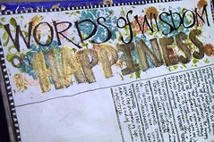 My Altered Book: A Happy Life : Words of Wisdom on Happiness